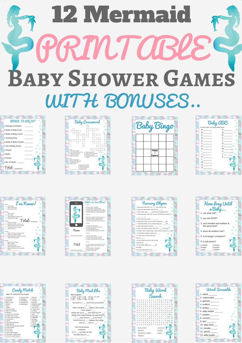 image regarding Free Printable Nautical Baby Shower Games named Nautical Child Shower Prints and Strategies Print My Kid Shower