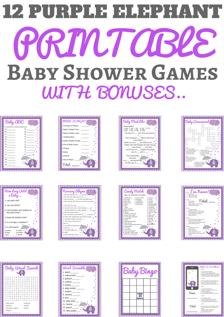Fun Baby shower family feud game questions and templates